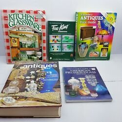 Vintage Lot Of 4 Antiques Collector Identification Price Value Guide Books And..