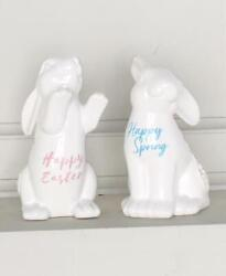 Easter Mantel Table Collection, Scarf Wreath Bunnies Tree Variations