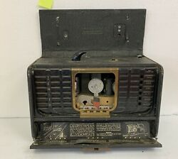 Vintage 1940's Zenith Transoceanic Shortwave Radio Untested For Parts Or Restore