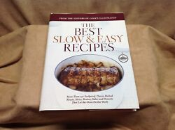 Cook#x27;s Illustrat. 2 Book Lot: The Best Chicken Recipes and Slow and Easy Recipes