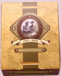 2005 Gold Two Coin Proof Set 21/4oz Anzac