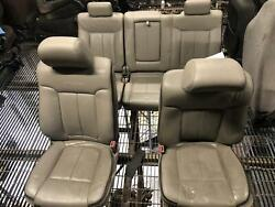F150 Complete Crew Cab Seat Set Platinum Electric Leather 10 Way Heated 09