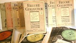The Record Collector A Magazine For Collectors Of Recorded Vocal Art, 1948-1953