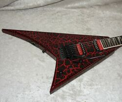 In Stock 2021 Jackson Pro Series Rhoads Rr24 Crackle Maul Crackle 0123