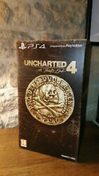 Uncharted 4 A Thiefand039s End - Edition Collector With Game. Avec Jeu Neuf