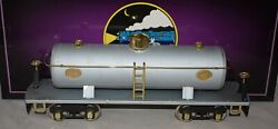 Mth Tinplate Traditions Ives Transition 190 Tank Car Factory Sample Undecorated