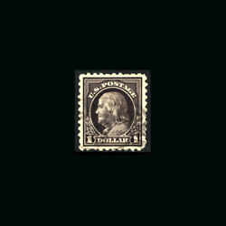 Us Stamp Regular Issues Used Xf/super S460 Light Cancel Very Scarce Stamp