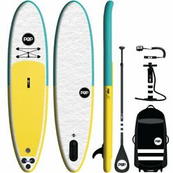 11andrsquo Pop Paddleboard Pop Up Inflatable Stand Up Paddle Board Sup Kit W/backpack