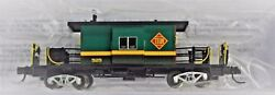 N Scale Bluford Shops 21200 Toledo, Peoria And Western Short Body B/w Caboose 525