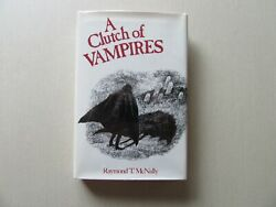 A Clutch of Vampires by Raymond McNally New York Graphic Society 1st Printing $40.00