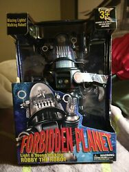 Forbidden Planet Robby The Robot Figure With Light And Walking Sound Ages 3+