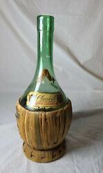 1949andrsquo Vintage Classical Californian Ted Chianti Empty Wine Straw Woven Bottle