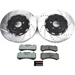 K6795-26 Powerstop New 2-wheel Set Front For Dodge Charger Challenger 2015-2019