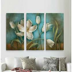 Tulip Melody-a Premium Multi Piece Art Available In 3 Sizes Oversized