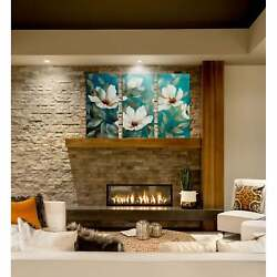 Shade Of Blue-a Premium Multi Piece Art Available In 3 Sizes Oversized