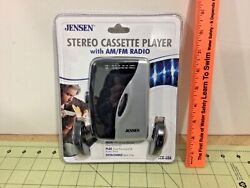 Vintage Jensen Stereo Cassette Player With Am/fm Radio, Scr-68a, Sealed