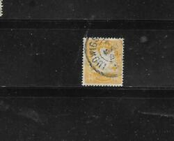 Bavaria Sc 68 1900 40pf Coat Of Arms Old Postally Used Antique Stamp