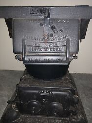Antique Caboose Railroad Wood And Coal Stove From Estate 249andnbsp From 1912