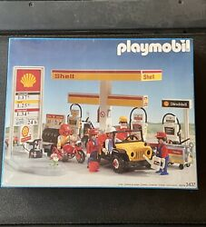 1991 Playmobil 3437 Shell Gas Station Unopened