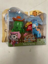 Nip Sheriff Callie's Wild West Action Figures Toby And Sparky Horse Rare