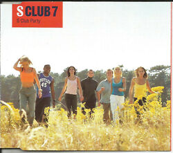 S Club 7 S Club Party W/ 2 Unreleased And Video Europe Cd Single Sealed Usa Seller