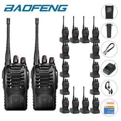 200x Baofeng Bf-888s Two Way Radio Rechargeable 2800 Mah Walkie Talkie
