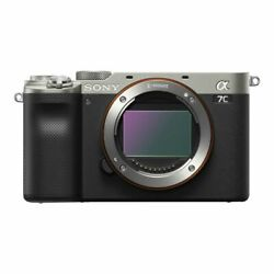 Sony Alpha A7c Ilce-7c Body Silver No Extra Cost