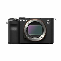 Sony Alpha A7c Ilce-7c Body Black No Extra Cost