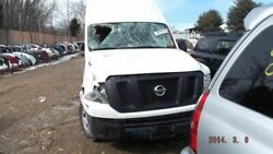 13 Nissan Nv 3500 Automatic Transmission 5.6l 8 Cyl Cargo Van From 10/12 755650
