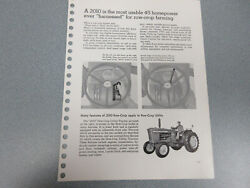 Rare John Deere 2010 Tractor Features And Options Brochure 32 Page