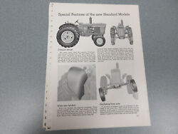 Rare John Deere 3010 And 4010 Standard Tractor Features And Options Brochure 4 Page