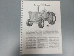 Rare John Deere 5010 Tractor With Features And Options Brochure 12 Page