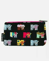 Mtv - Logo Pouch - Loungefly Free Shipping Same Day