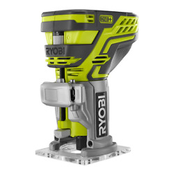 Ryobi Wood Router 18-volt Lithium-ion Micro-adjusting Brushed Motor Tool Only