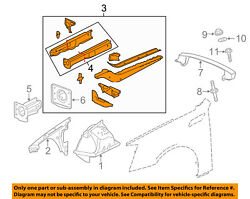 Cadillac Gm Oem 08-15 Cts Fender-rail Assembly Left 22772869