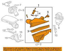 Cadillac Gm Oem 14-18 Cts 3.6l-v6 Engine-air Cleaner Assembly 23379135