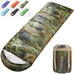 Farland Sleeping Bags 20℉ For S Teens Kids With Compression Sack Portable And