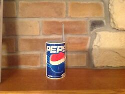 Vintage Collectible Pepsi Can Am/fm Radio W/antenna Works