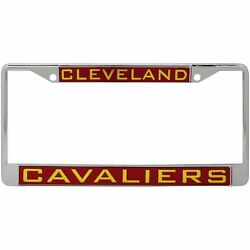 Cleveland Cavaliers Wincraft Laser Inlaid Metal License Plate Frame