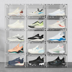 Transparent Shoe Box Sneaker Jersey Storage Dust-proof Fully Transparent