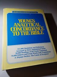Young's Analytical Concordance To The Bible By Eerdmans, 1977, Hardcover