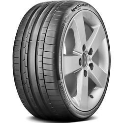 4 New Continental Sportcontact 6 245/35r19 93y Xl R02 Performance Tires