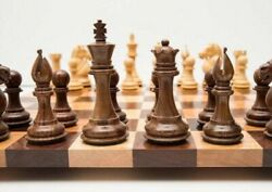 16andrdquo Personalized Wooden Borderless Chess Set With Best Quality Random Chess Pcs