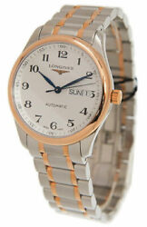Longines Master Collection Automatic Steel And Rose Gold Mens Watch L27555797