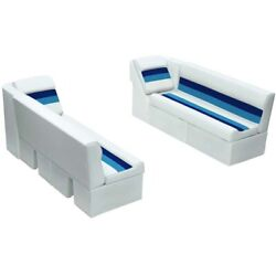 Wise 55 Bench And Lean Back Marine Boat Seat Set