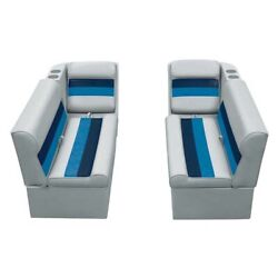 Wise 36 Bench And Lean Back Marine Boat Seat Set
