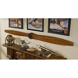 Airplane Vintage Aircraft Propeller Wwi 71 Inches Wood Model Assembled Replica