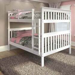 Donco Kids Mission Full Bunk Bed With Optional Drawers Or