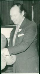 David Ormsby-gore Harlech Lord. - Vintage Photograph 1231123