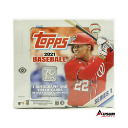 2021 Topps Series 1 Baseball Sealed Jumbo Hobby Box Ausumsports